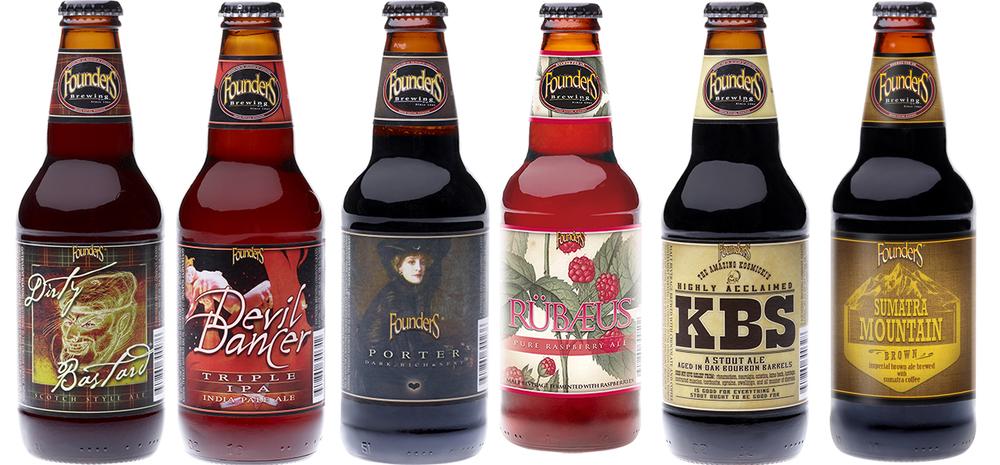 Importadora traz a linha de frente da cervejaria norte-americana (Fotos: Divulgação)