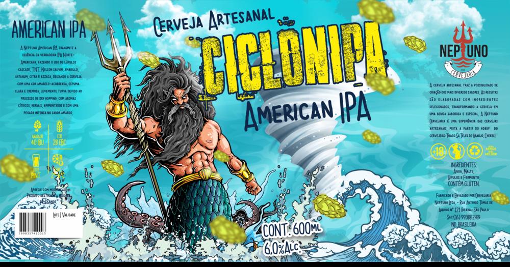 Rótulo desenvolvido pela Agência Alvo, de Vinícius Ferreira, autor do blog sobre design de cerveja (Foto: Divulgação)