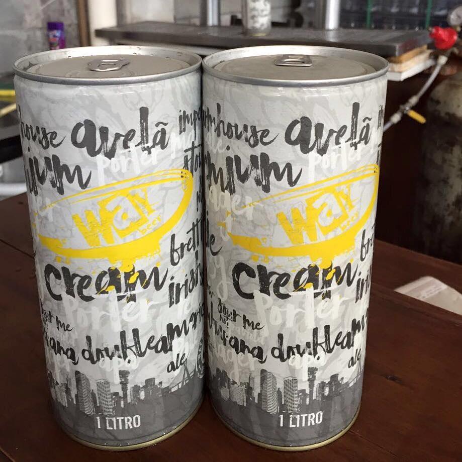 Seleção de cervejas para o Crowler é rotativa (Foto: Divulgação)