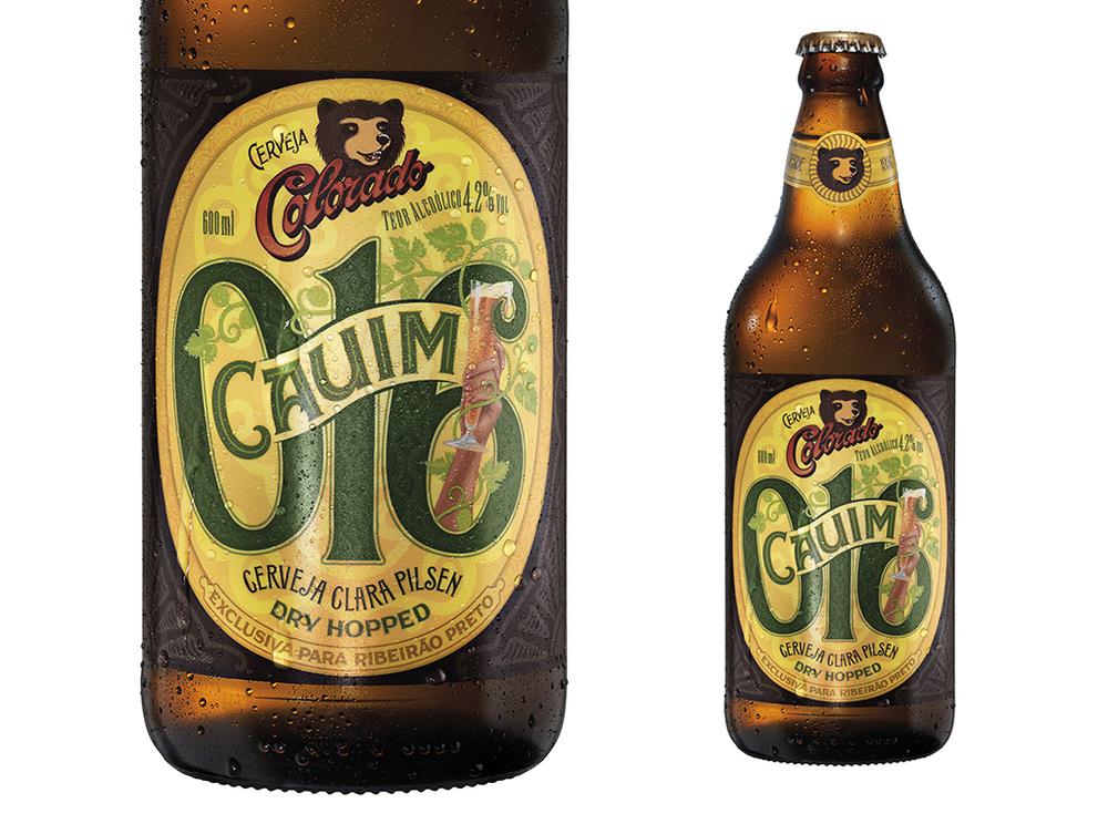 A nova cerveja é uma Pilsen com mandioca, conta com um processo de Dry Hopping com lúpulos franceses, e tem 4,2% de teor alcoólico, um pouco menor do que a tradicional Cauim (Foto: Divulgação)