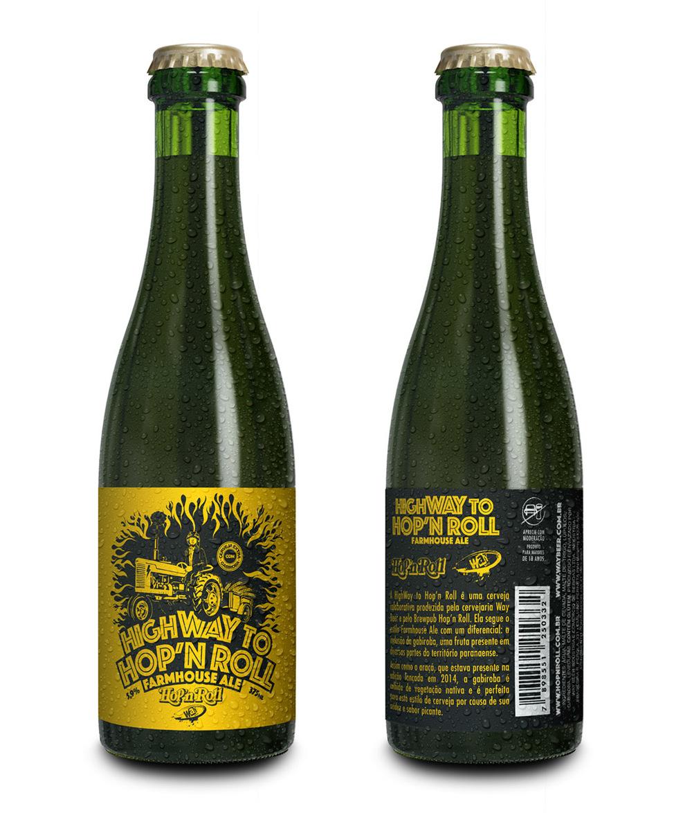 A bebida, a ser oferecida em garrafa de 375 mL a partir de 8 de agosto, tem a presença de uma fruta identificada com o Paraná (Foto: Divulgação)