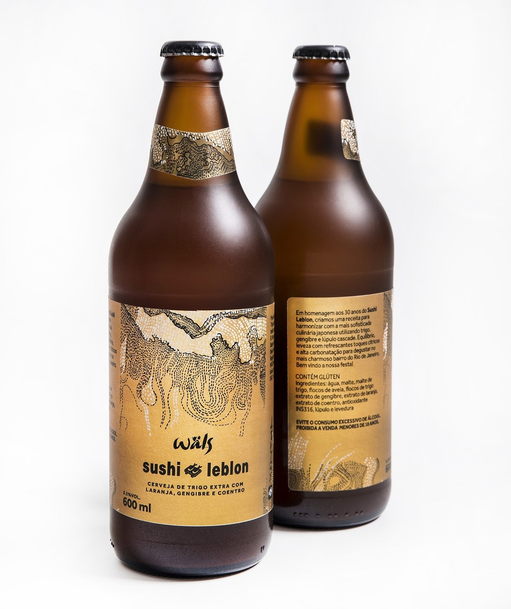 Cerveja leva em sua composição gengibre, laranja e coentro (Foto: Divulgação)