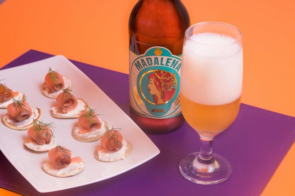 Cada etapa do jantar é harmonizada com uma cerveja de um estilo diferente (Foto: Divulgação)