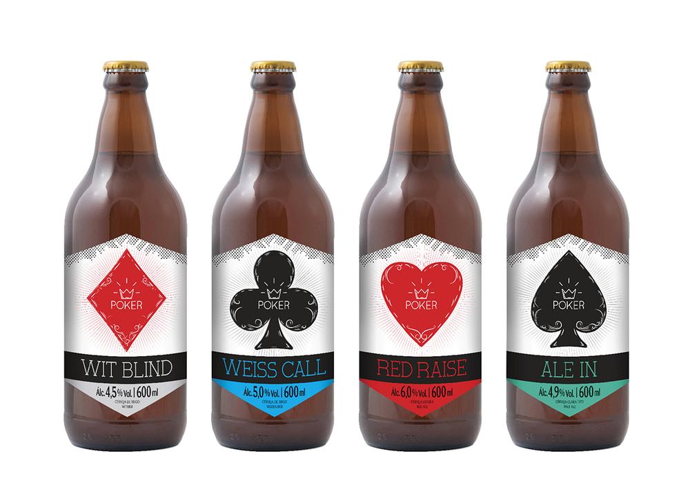 Os estilos: Witbier, Weizenbier, Red Ale e American Pale Ale (Foto: Divulgação)