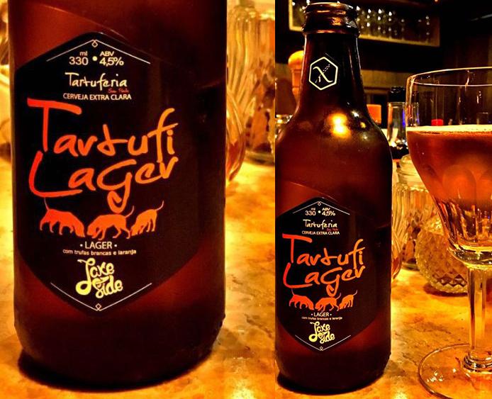 Oferecida nas duas unidades da Tartuferia na capital paulista, a cerveja é uma Lager com 4,5% de álcool (Foto: Divulgação)