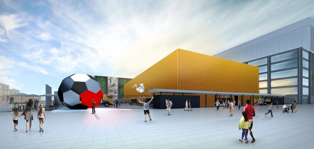 Espaço, com capacidade para mais de 6 mil pessoas, foi concebido para sediar feiras e eventos gastronômicos de grande porte com produção local (Foto: Divulgação)