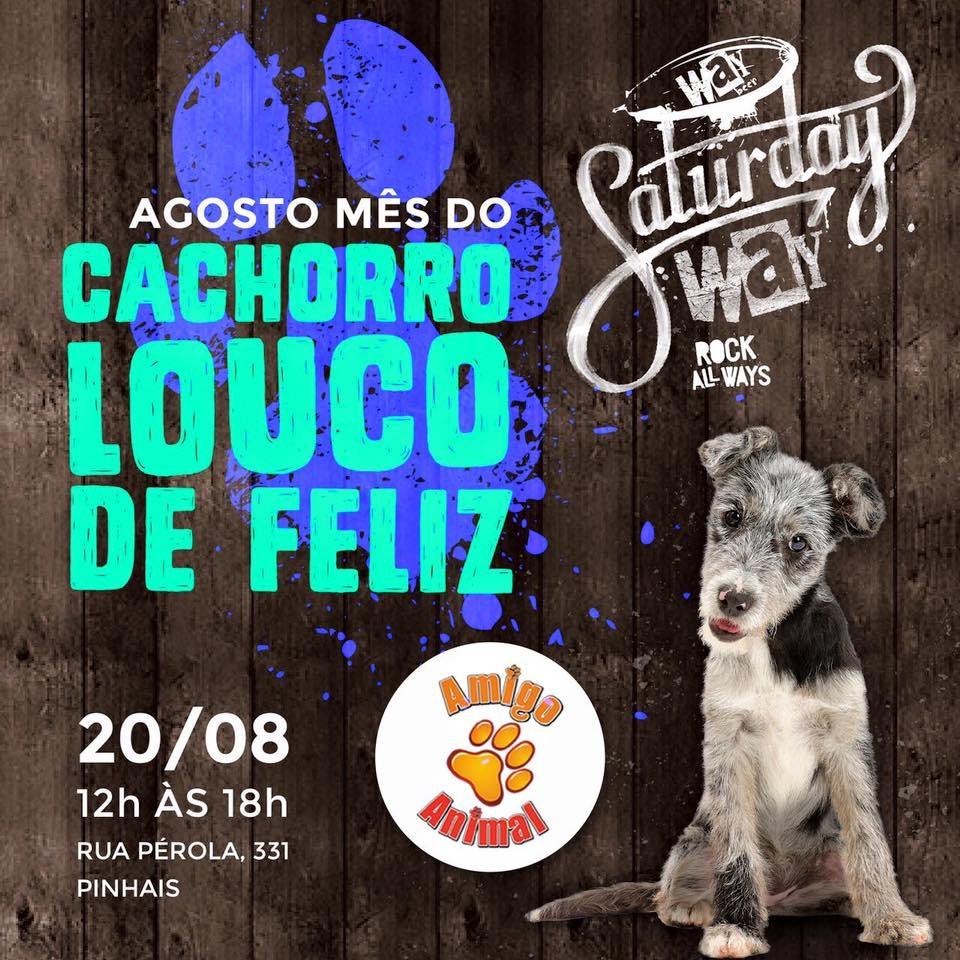 """""""Agosto, mês do cachorro louco de feliz"""" é o tema do evento na fábrica da cervejaria Way Beer (Foto: Divulgação)"""