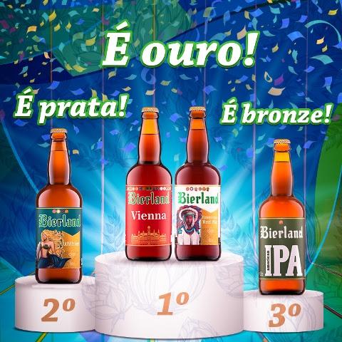 No World Beer Awards, a Bierland Vienna e a American Red Ale ainda podem ganhar mais medalhas, nas etapas continental e mundial (Foto: Divulgação)