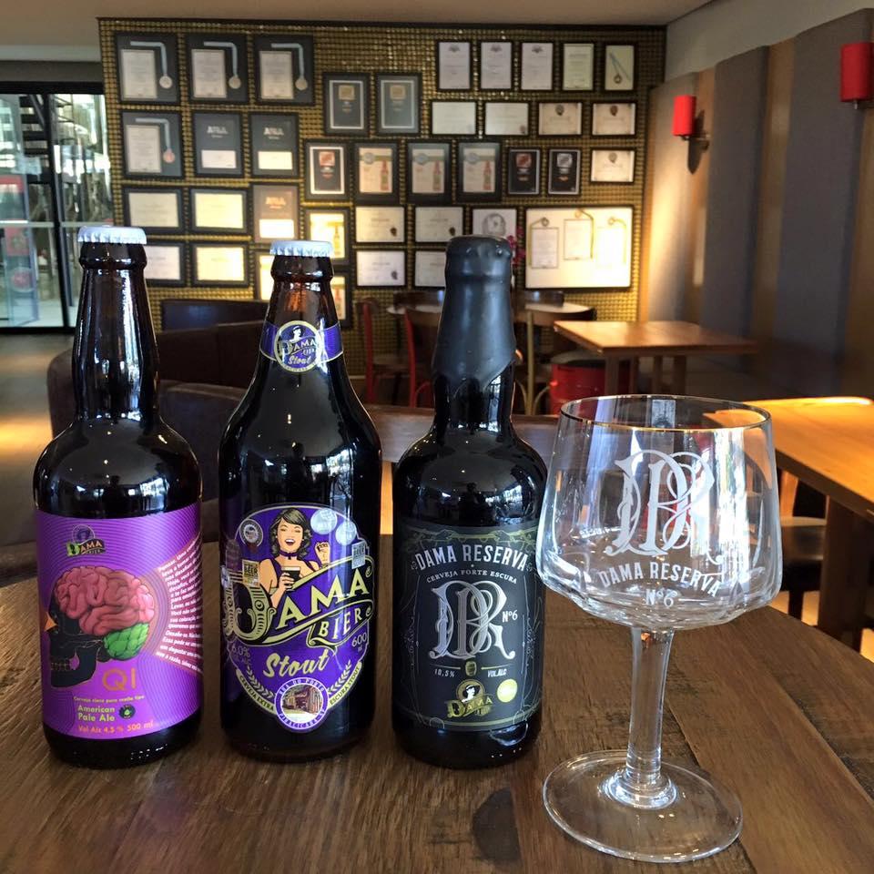 Dama QI (uma American Pale Ale), Stout e Reserva 6 foram premiadas em um dos principais concursos cervejeiros internacionais (Foto: Divulgação)