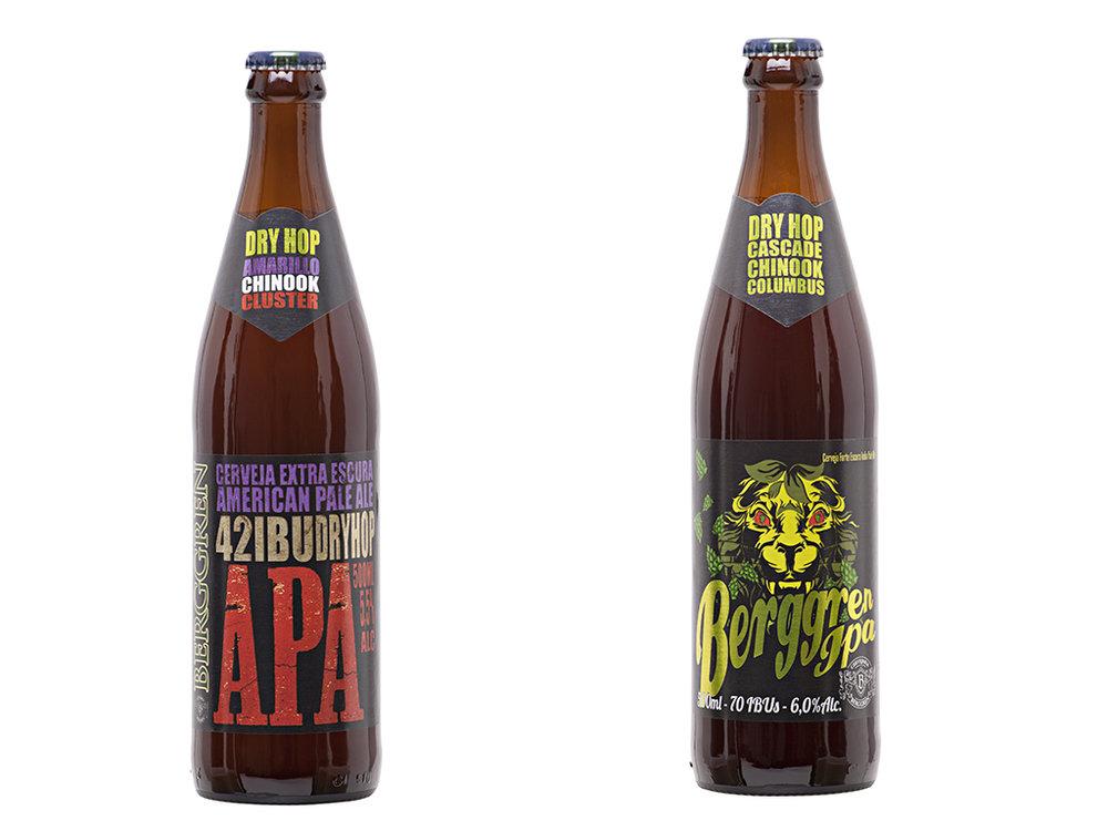 Para apresentar a American Pale Ale e a American IPA, cervejaria renovou a identidade visual (Fotos: Divulgação)