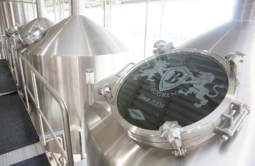 Inaugurada em 2015, cervejaria começou a ser concebida em 2008 (Foto: Divulgação)