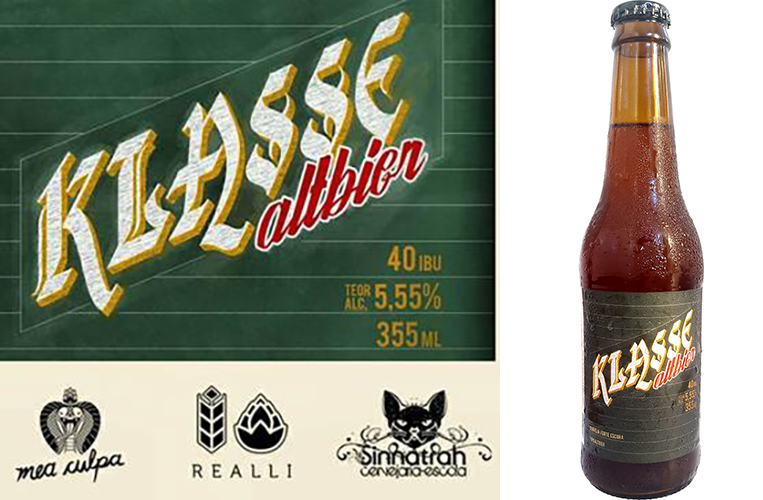 """Com o nome de Klasse (""""aula"""" em alemão), a cerveja tem receita assinada pelo cervejeiro Marcelo Sá Earp, ex-aluno da Sinnatrah (Foto: Divulgação)"""
