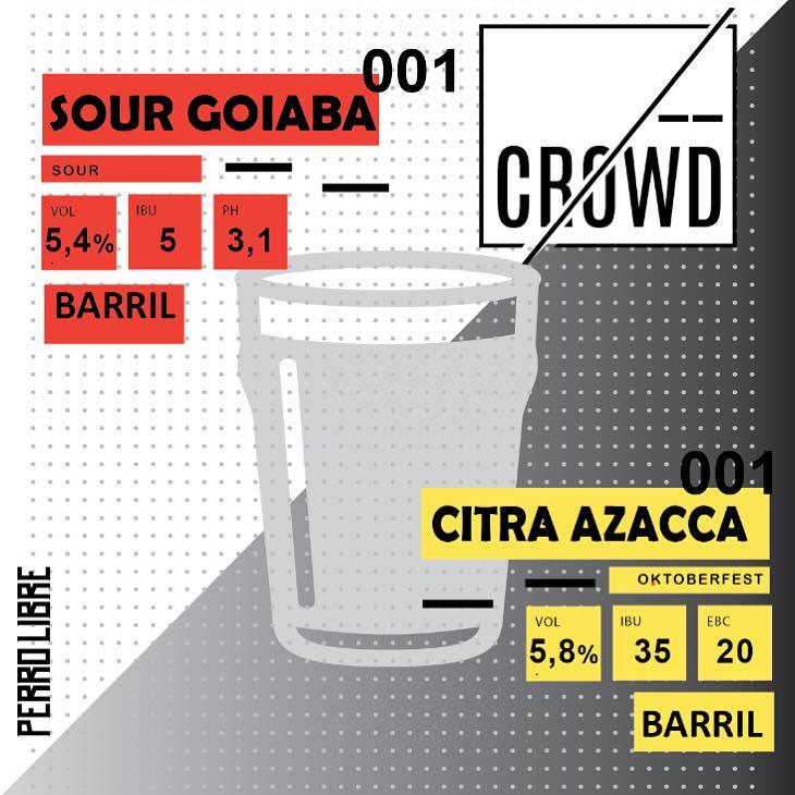 Público tem até sexta-feira, 2 de setembro, pra decidir entre uma Sour Goiaba e uma Citra Azacca Oktoberfest como a próxima cerveja da série (Foto: Divulgação)