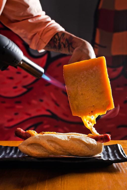 Raclette Dog (Foto: Divulgação)