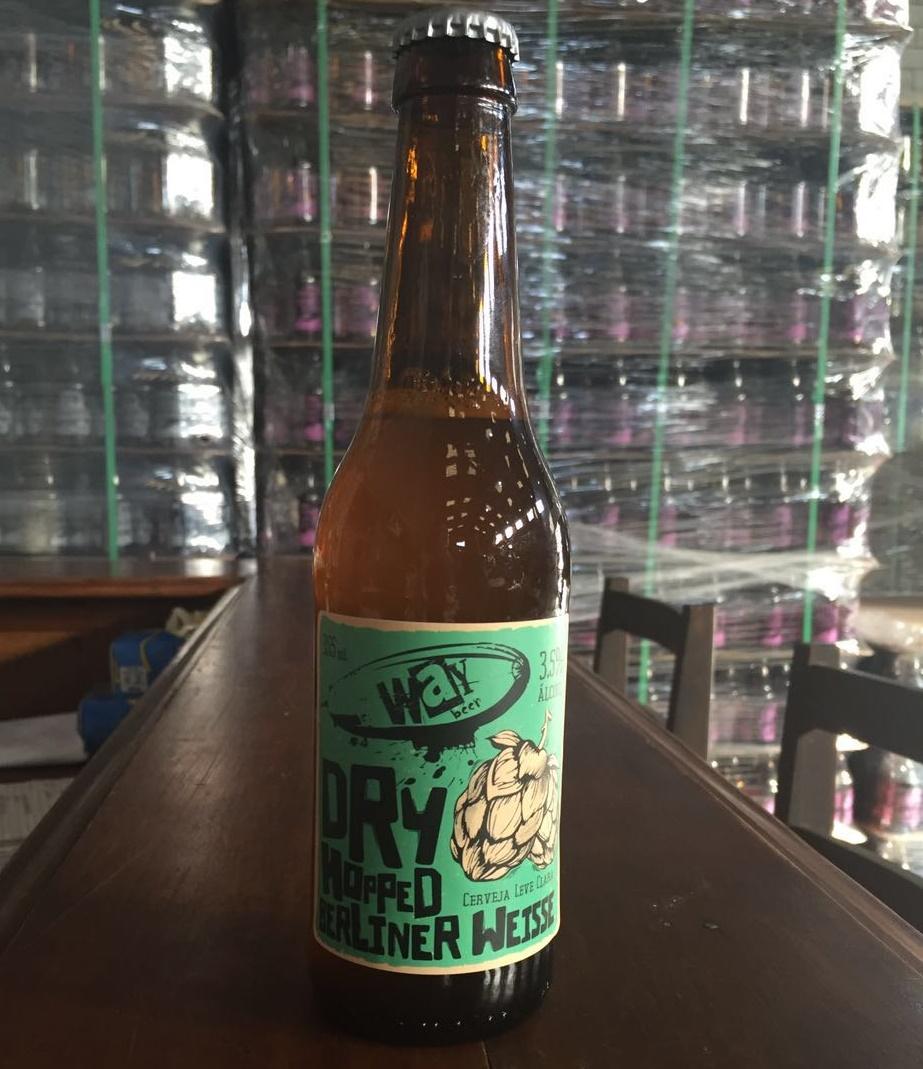 Nova cerveja engarrafada da Way é uma releitura do estilo alemão Berliner Weisse potencializado pelos lúpulos Amarillo e Mosaic (Foto: Divulgação)