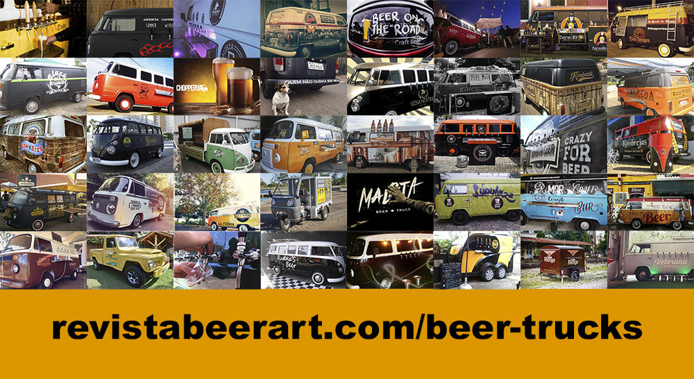 Seção nasce com 40 beer trucks, de cinco estados e do Distrito Federal (Fotos: Divulgação)