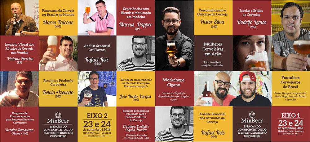 Painéis do festival abarcam diferentes aspectos da indústria cervejeira (Fotos: Divulgação)