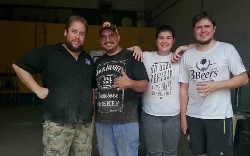 André Cancegliero,cervejeiro e sócio da Urbana, desembarcou em Manaus para uma produção local em parceria com a 3Beers (Foto: Divulgação)