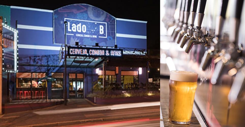 Além de cerveja exclusiva, bar oferece durante o período da festa cardápio típico da cozinha alemã (Fotos: Daniel Galo/Divulgação)