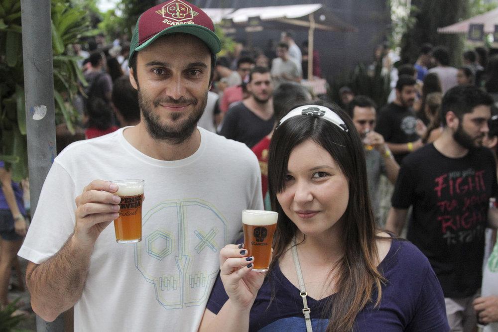 Bernardo e Maíra, da 2cabeças (Foto: Divulgação)