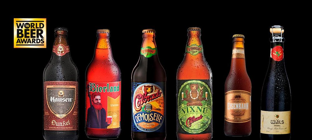 A Hausen Dunkel foi eleita a melhor Lager do mundo, e cervejas da Bierland, da Colorado, da Eisenbahn e da Wäls ganharam em seus estilos (Foto: Divulgação)