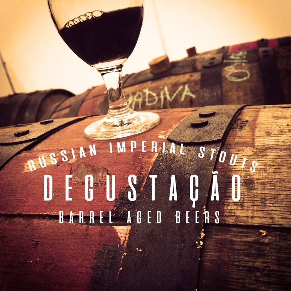 A Odonata é uma Imperial Stout envelhecida por três meses em barril de Tennesse Whisky, que ganhou três versões (Foto: Divulgação)
