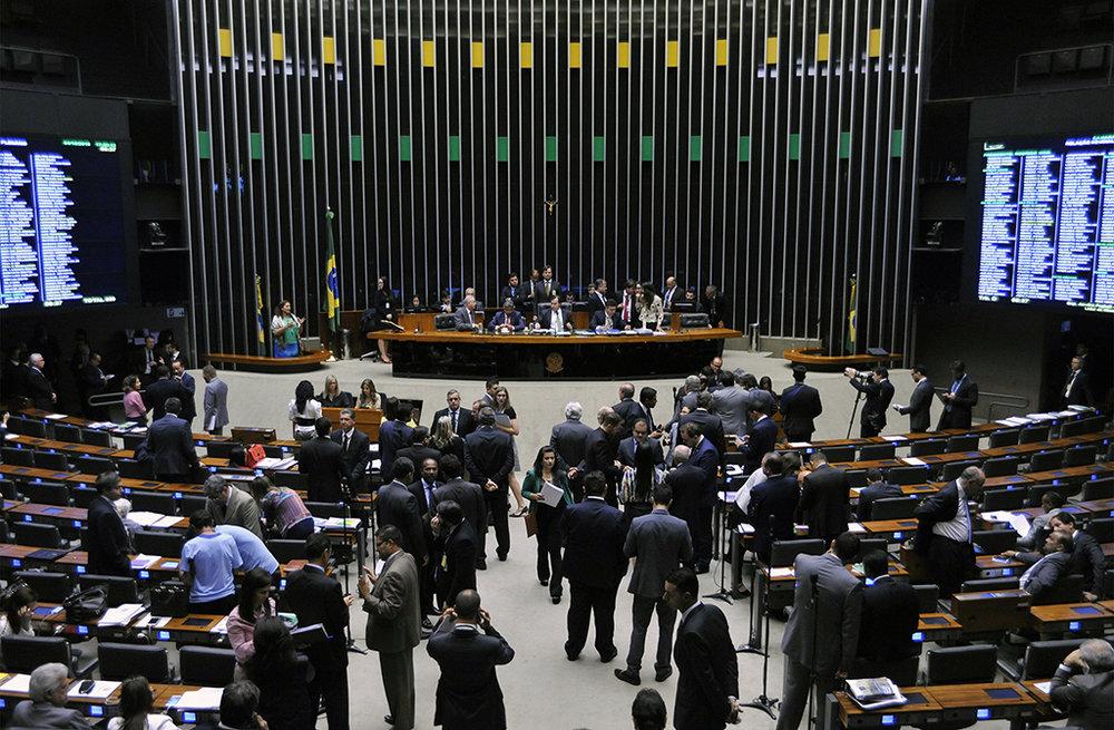 Votação do Projeto de Lei Complementar (PLP) 25/07, que muda regras do Simples Nacional (Foto:Alex Ferreira/Câmara dos Deputados)