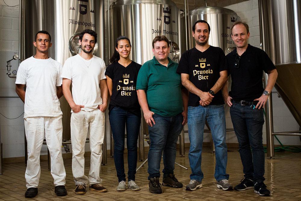 A equipe da Prussia Bier (Foto: Divulgação)