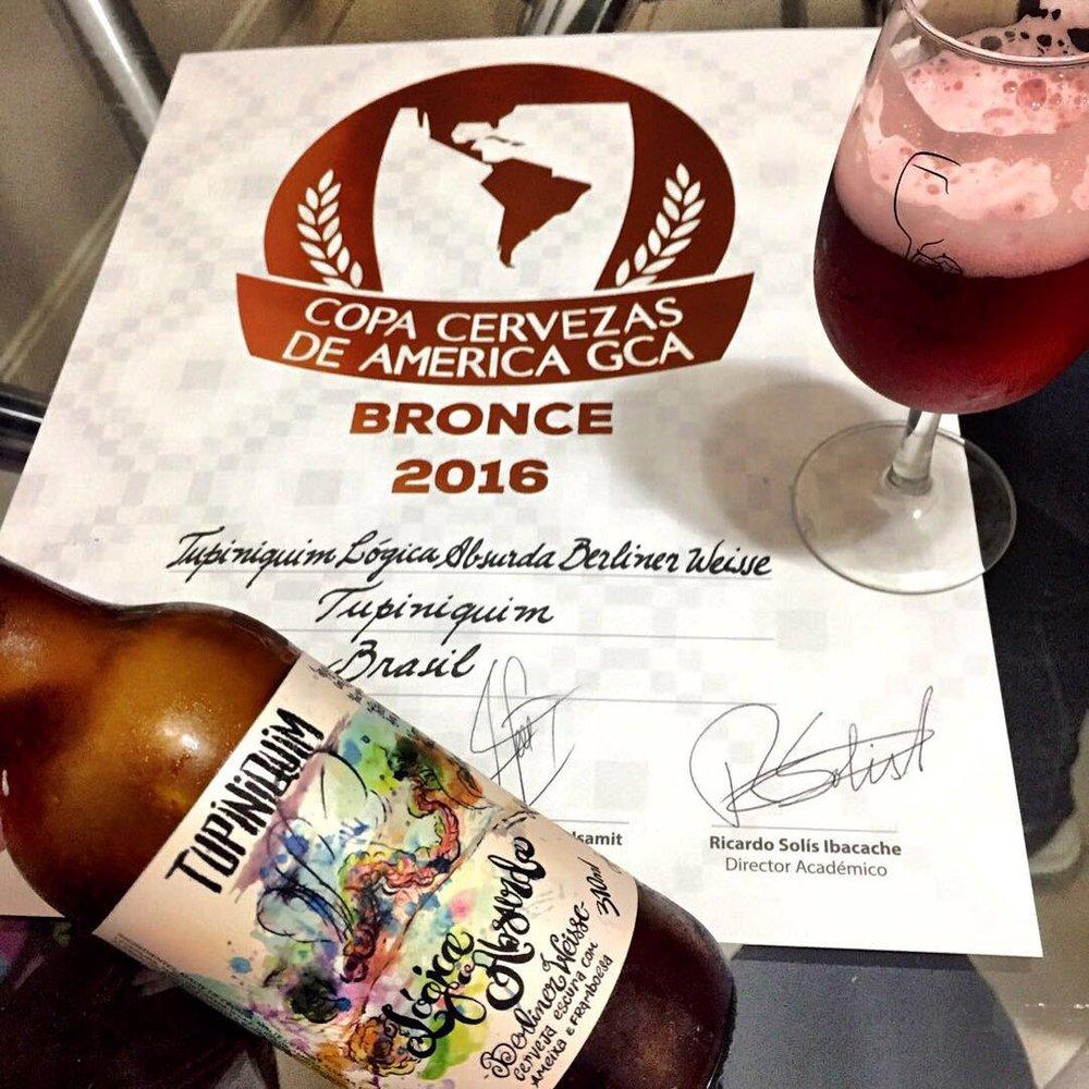 Cerveja foi premiada na categoria Specialty Fruit Beer (Foto: Divulgação)