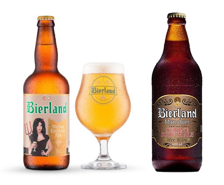 Strong Golden Ale e Strong Scotch Ale reforçam o quadro de medalhas da cervejaria catarinense (Fotos: Divulgação)