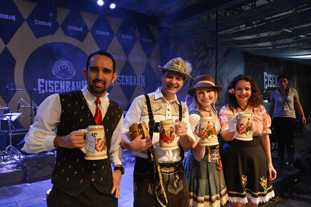 Os ganhadores da edição de terça, 11 (Foto: Michele Lamin/Divulgação)