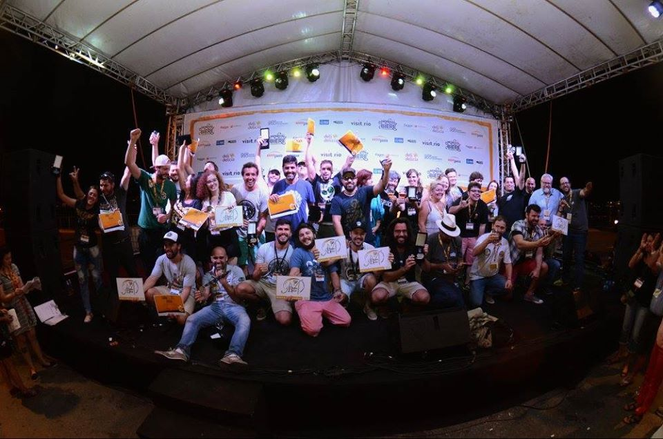 Cervejas premiads no MBeer Contest Brazil foram anunciadas na segunda do festival no Rio (Foto: Divulgação)