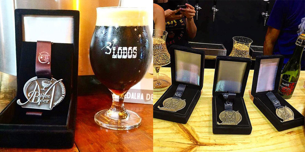 Bäcker Bravo conquistou a medalha de platina, e a Wäls ganhou ouro com a Dubbel, a Cuvée Carneiro e a Niobium (Fotos: Divulgação)