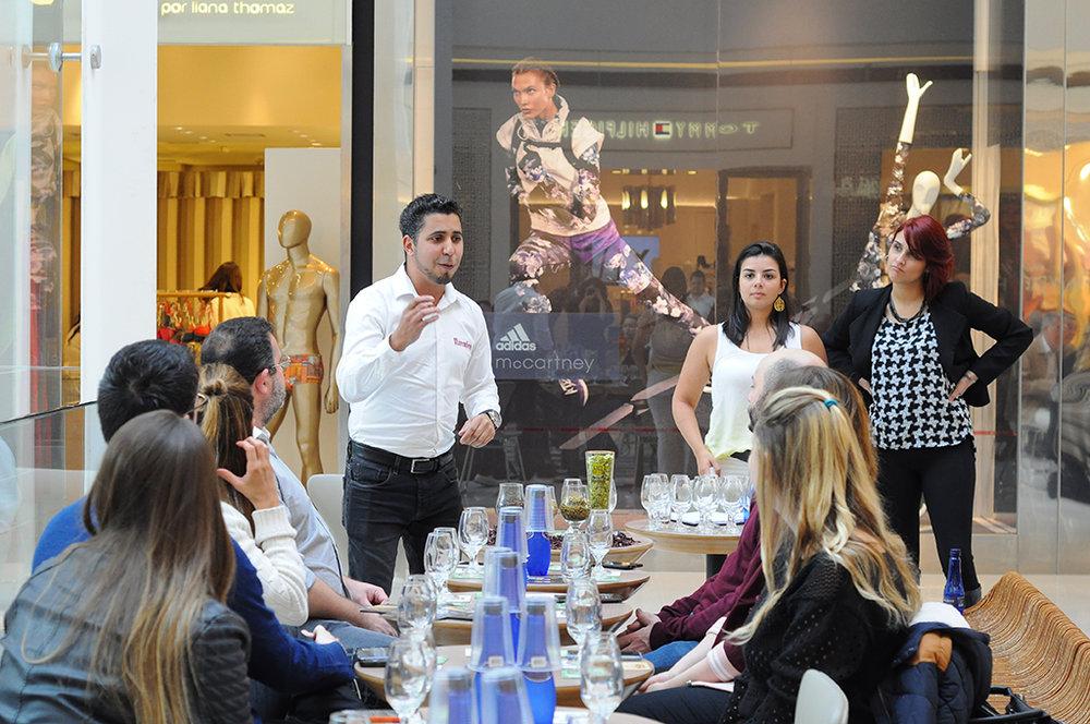 Evento reuniu influenciadores no shopping JK Iguatemi, em São Paulo (Foto: Istephany Costa)