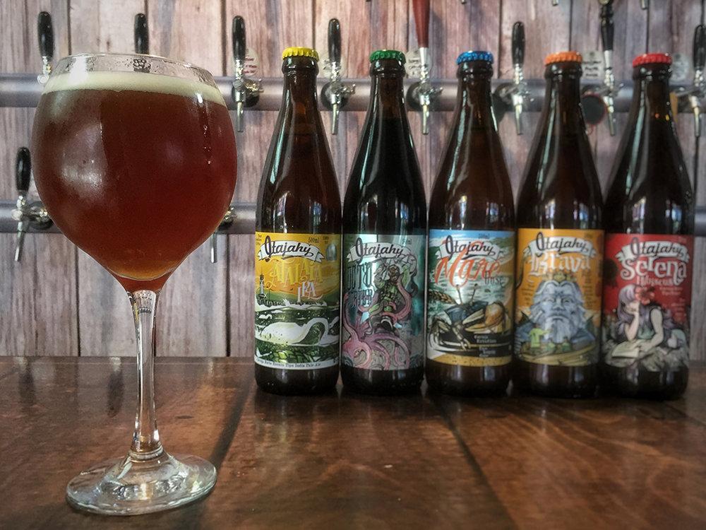 Linha da Itajahy conta com cervejas premiadas (Foto: Divulgação)