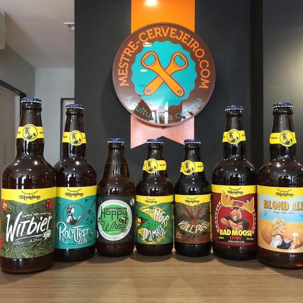 Cervejas da Blondine estão entre as opções nas prateleiras na capital baiana (Foto: Divulgação)