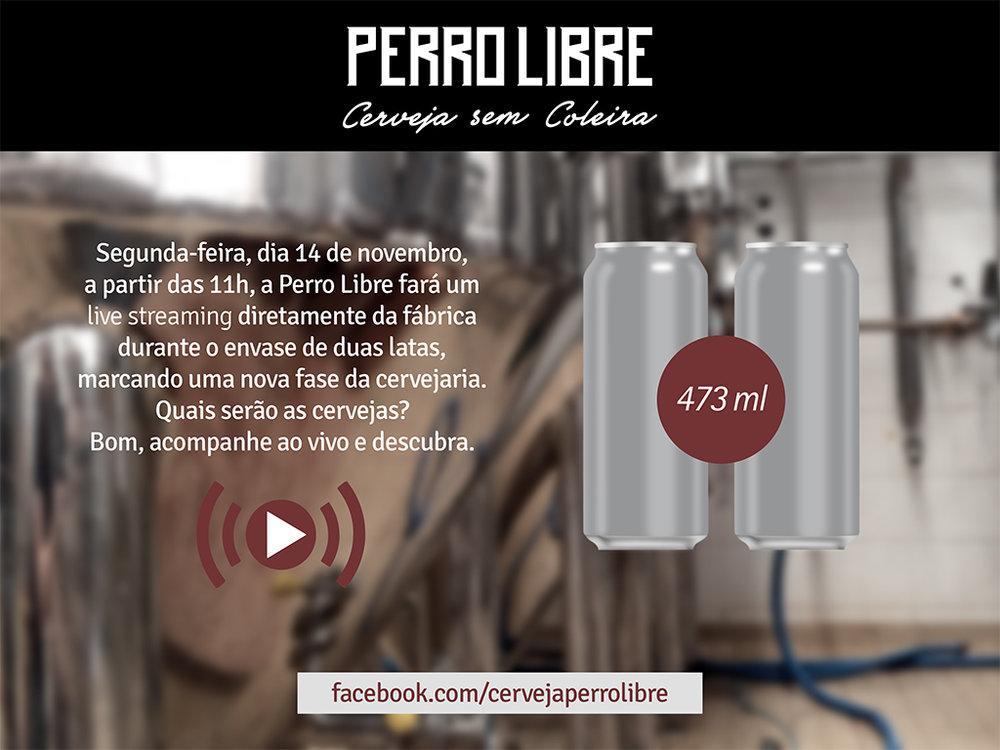 Streaming do envasamento será pela fanpage da cervejaria (Foto: Divulgação)