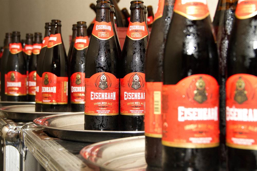 Receita vencedora dos concursos Eisenbahn é industrializada, como ocorreu com a Irish Red Ale, na sexta edição (Foto: Divulgação)