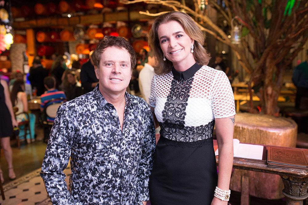 Halim e Paula Lebbos, diretores da Cervejaria Backer (Foto:Francisco Dumont/Divulgação)