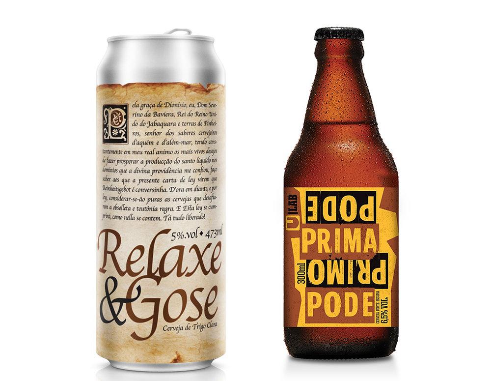 A Relaxe & Gose é uma cerveja colaborativa com o Empório Alto Pinheiros (EAP) e o sommelier Renê Aduan Júnior, criador da marca Alma Rústica (Fotos: Divulgação)