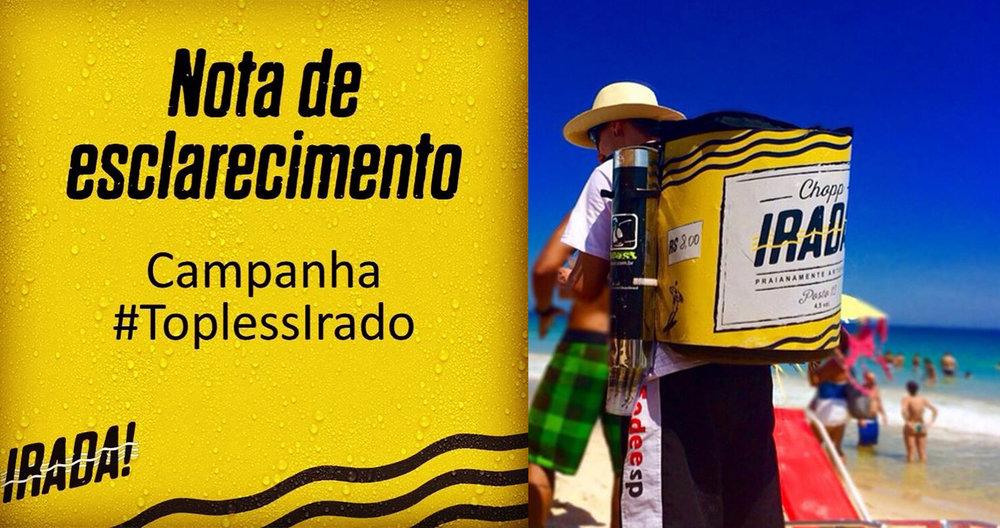 Cervejaria Irada! nasceu distribuindo chope nas praias do Rio (Fotos: Divulgação)