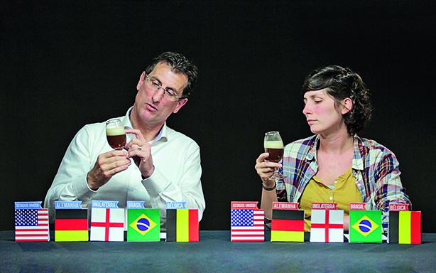 O belga Bob e a alemã Laura (Foto: Divulgação)