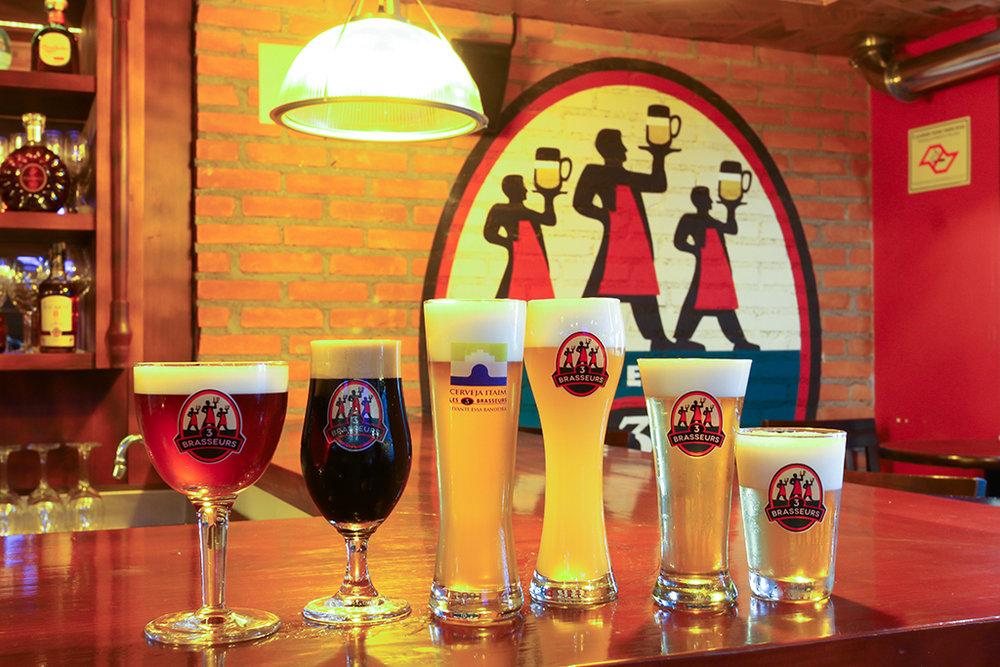 Cervejas fabricadas no Les 3 Brasseurs (Foto:Thiago Capodanno, VGCOM/Divulgação)
