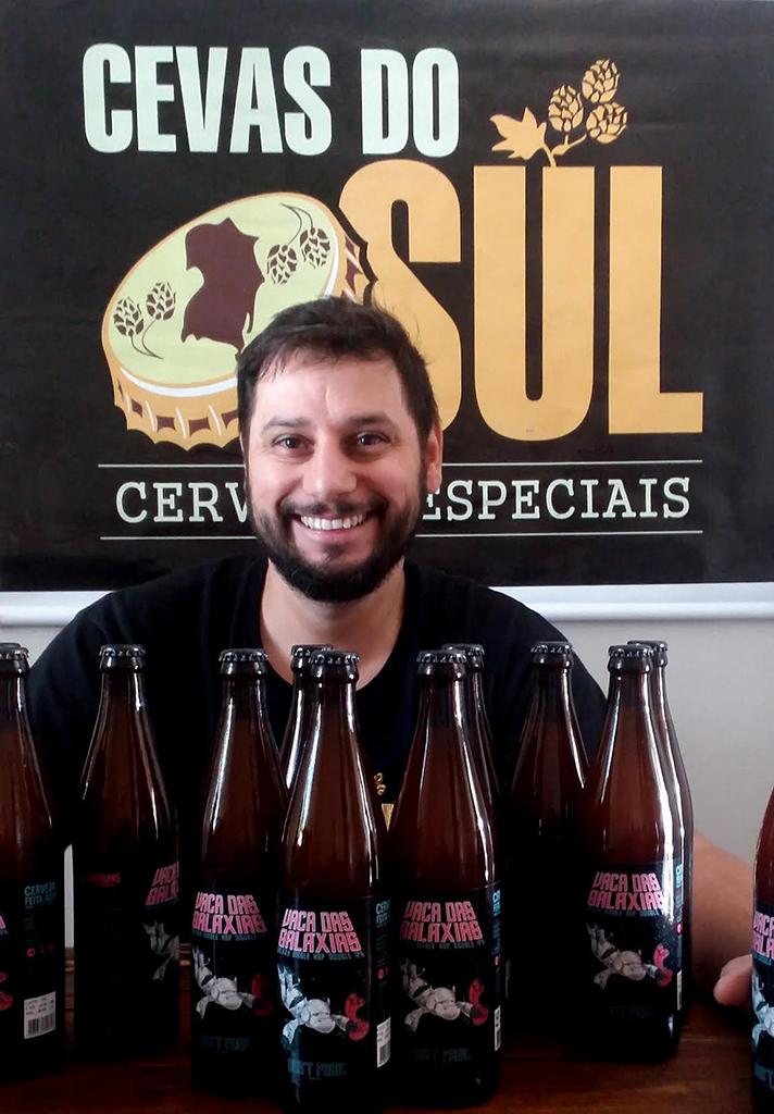 Anderson Jaques conta como surgiu a ideia do clube cervejeiro e antecipa novidades (Foto: Altair Nobre/Beer Art)