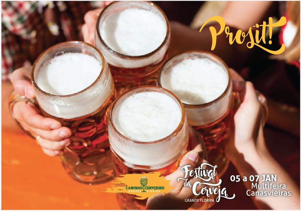 Marcas que fazem parte da rota turística Caminho Cervejeiro oferecem mais de 30 opções de cerveja no festival (Foto: Divulgação)