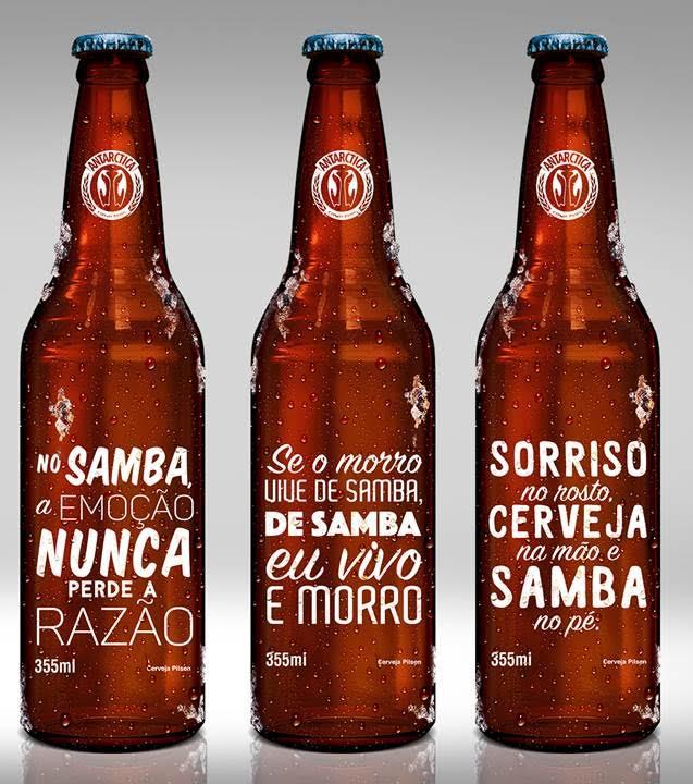 Novo design traz frases em homenagem ao ritmo e a sua relação com o Rio de Janeiro (Foto: Divulgação)