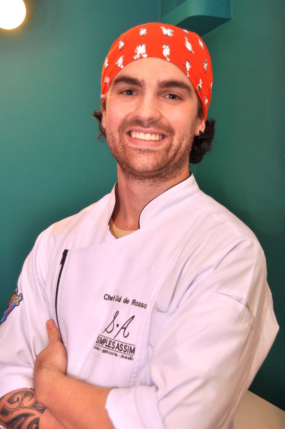 Chef e beer sommelier Guilherme De Rosso, do Simples Assim (Foto: Divulgação)