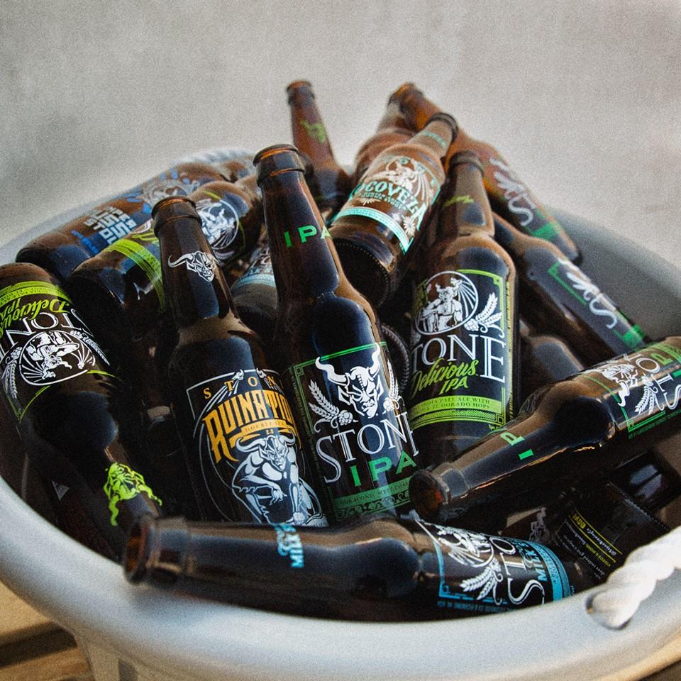 Primeira leva oficial da Stone Brewing reúne cervejas de linha, sazonais e comemorativas (Foto: Divulgação)