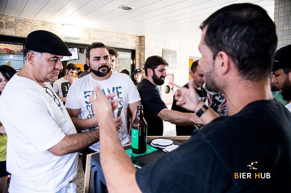Festivais do Bier Hub são a oportunidade de participar da escolha das cervejas para o clube em conjunto com a WBeer (Foto:Felipe Scappatura/Divulgação)