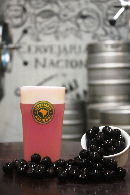 A cerveja de estreia é a AlpHa Ácida, de estilo Sour e caracterizada pela acidez da jabuticaba (Foto: Divulgação)